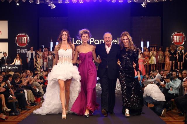 Desfile peinados Leo Paparella